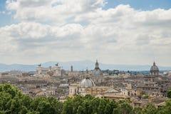 Het overzicht van Rome Royalty-vrije Stock Foto's