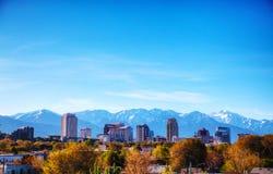 Het overzicht van Salt Lake City Royalty-vrije Stock Foto