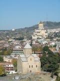 Het overzicht van Tbilisi Stock Afbeeldingen