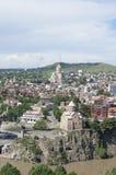 Het overzicht van Tbilisi Stock Foto
