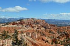 Het overzien van Bryce Canyon National Park, UT Royalty-vrije Stock Afbeeldingen