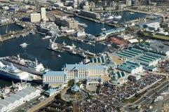 Het overzien van Cape Town Royalty-vrije Stock Foto's