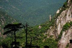 Het overzien van de bergen royalty-vrije stock fotografie