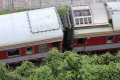 Het overzien van de trein Royalty-vrije Stock Afbeeldingen