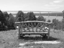 Het overzien van Hudson River Stock Foto