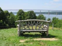 Het overzien van Hudson River Royalty-vrije Stock Fotografie