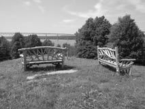 Het overzien van Hudson River Royalty-vrije Stock Foto's