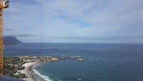 Het overzien van oceaan Stock Afbeelding