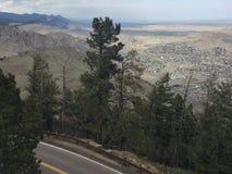 Het overzien van Rocky Mountains royalty-vrije stock fotografie