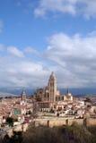 Het overzien van Segovia Stock Foto