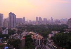 Het overzien xiamen stad Stock Foto's