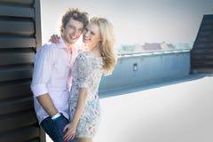Het paar van Attrctive het glimlachen Royalty-vrije Stock Fotografie