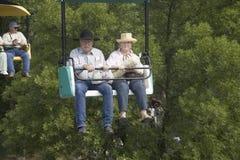 Het paar van de cowboy Royalty-vrije Stock Foto's