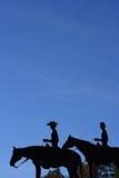 Het Paar van de cowboy Royalty-vrije Stock Fotografie