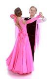 Het paar van de de jeugddans Royalty-vrije Stock Afbeeldingen