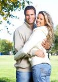 Het paar van de liefde Stock Fotografie