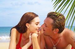 Het paar van de liefde Royalty-vrije Stock Fotografie