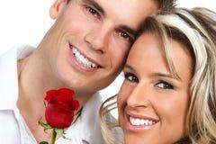 Het paar van de liefde Royalty-vrije Stock Afbeeldingen