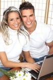 Het paar van de liefde Royalty-vrije Stock Foto's