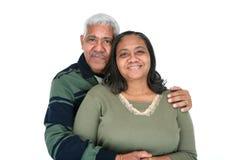 Het Paar van de minderheid Stock Foto's