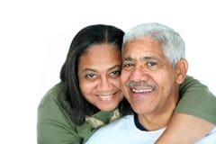 Het Paar van de minderheid Stock Fotografie