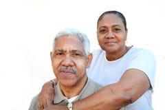 Het Paar van de minderheid royalty-vrije stock fotografie
