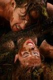 Het Paar van de modder stock fotografie