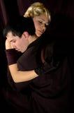 Het paar van de tango Royalty-vrije Stock Foto's