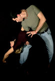 Het paar van de tango Stock Afbeelding