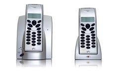 Het paar van de telefoon Royalty-vrije Stock Afbeeldingen