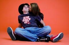 Het Paar van de tiener Stock Foto's