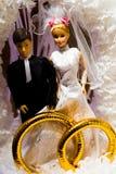 Het paar van Doll royalty-vrije stock fotografie