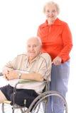 Het paar van Eldery Stock Afbeelding