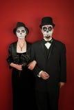 Het Paar van Freaky Stock Fotografie