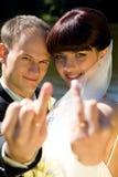 Het paar van Happe Stock Foto