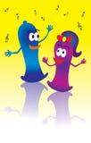 Het Paar van het condoom Royalty-vrije Stock Afbeelding