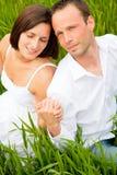 Het paar van het gras Royalty-vrije Stock Fotografie