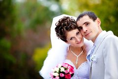 Het paar van het huwelijk Royalty-vrije Stock Foto