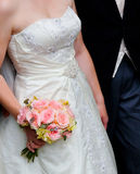Het paar van het huwelijk Royalty-vrije Stock Afbeeldingen