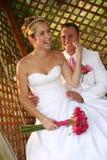 Het Paar van het huwelijk stock foto