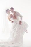 Het paar van het huwelijk het dansen   Royalty-vrije Stock Fotografie