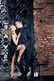 Het paar van het liefdeverhaal, valentijnskaartdag sexy stock foto's