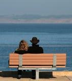Het Paar van het strand Stock Foto's