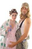 Het Paar van Hillbilly van Redneck Stock Fotografie
