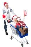 Het paar van Kerstmis Royalty-vrije Stock Foto