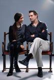 Het Paar van Nice. Stock Foto's