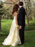 Het Paar van Prom Royalty-vrije Stock Afbeeldingen