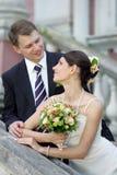 In het Paar van Romancing van de Liefde Royalty-vrije Stock Foto