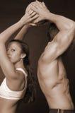 Het paar van sporten Royalty-vrije Stock Foto's