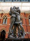Het paar van St Pancras royalty-vrije stock afbeeldingen